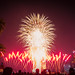 Fireworks from the National Day Preview, Singapore by zy80 toys&travel
