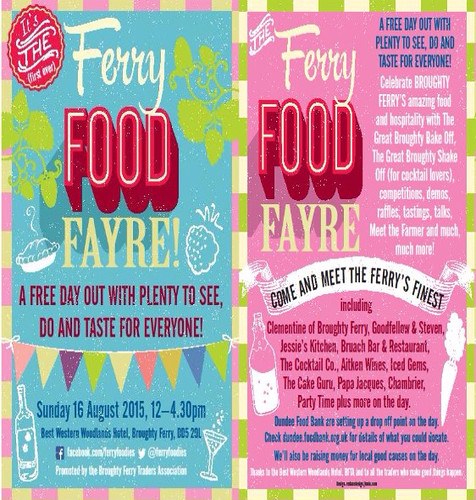 Ferry Food Fayre 18 August 2015