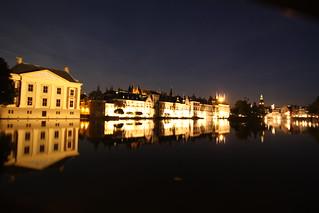 Mauritshuis and Binnenhof.  Den Haag, Nederlands.