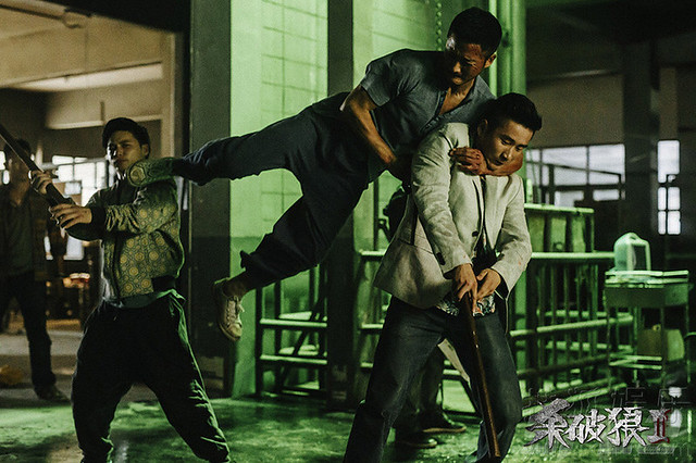 SPL2 Wu Jing fight