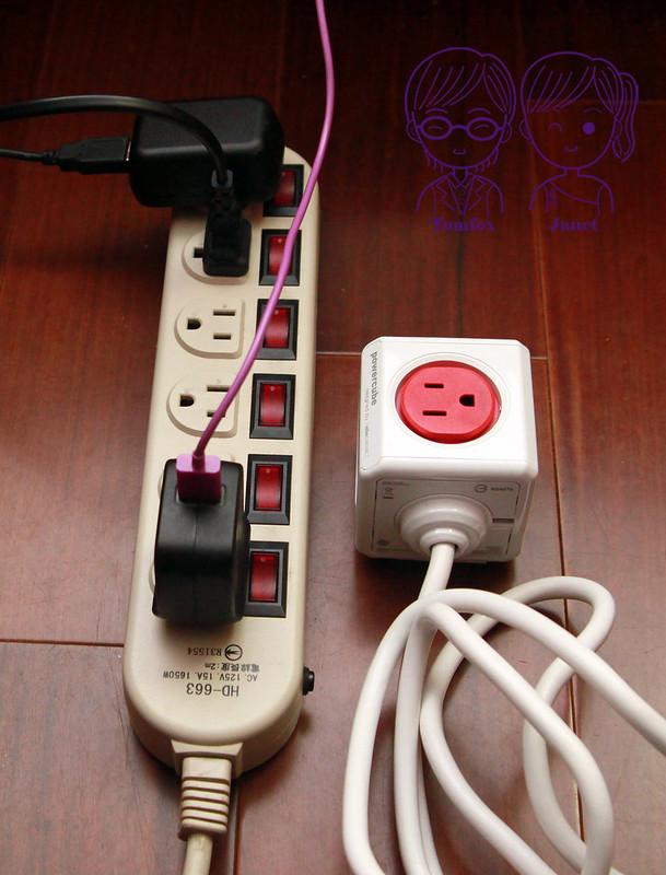 28 PowerCube延長線 節省空間