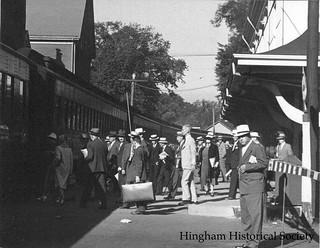 Hingham Square Train Station
