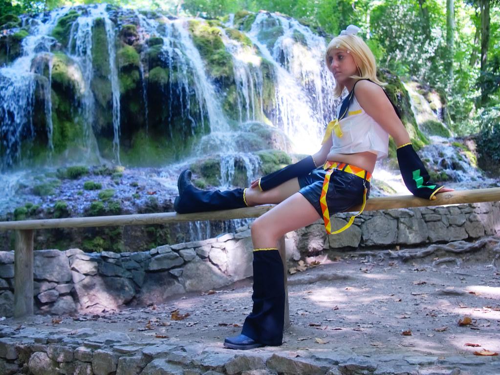 related image - Shooting Rin kagamine - Vocaloid - Parc de Saint Pons -Gemenos- 2015-08-05- P1170709