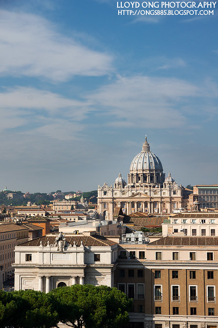 St Peter's Square View from Castel