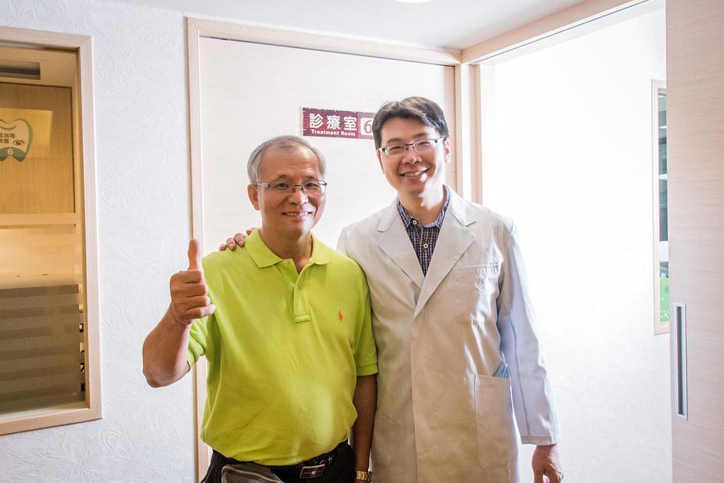 舒適如家的牙醫診所-帶爸爸到高雄人本自然植牙 (23)
