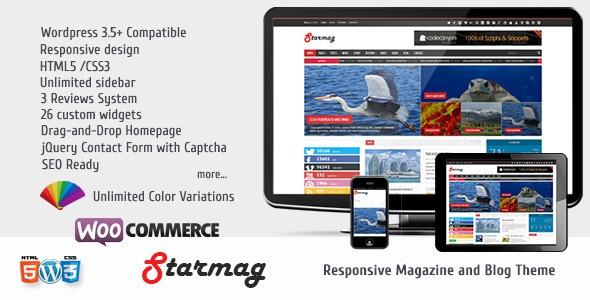 StarMag v1.3 - News & Magazine Theme