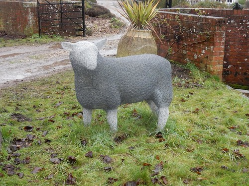 Wire sheep