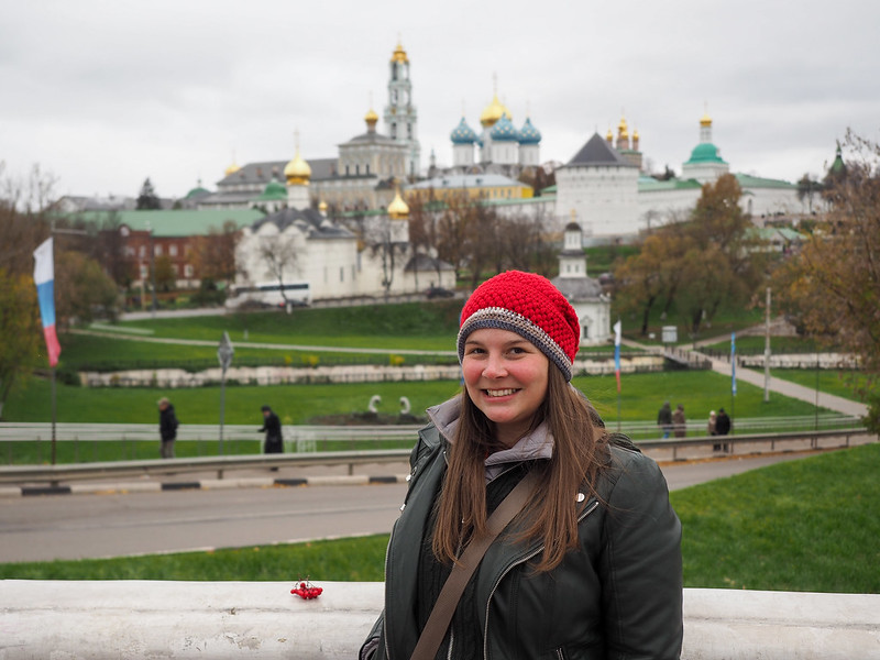 Amanda in Sergiev Posad, Russia