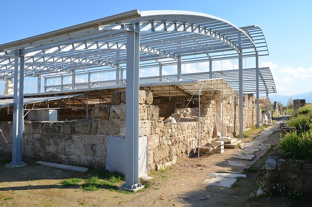 The Church of Laodikeia built during the reign of Constantine the Great, it was uncovered in 2010, Laodicea on the Lycus, Phrygia, Turkey