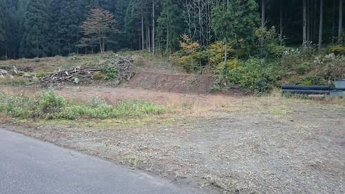 R157沿いの集落跡 周辺はすでに無住