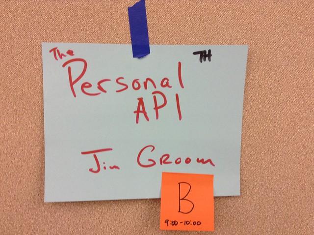 Personal API