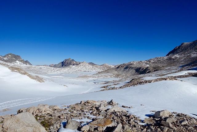 Snowfields to Wanda Lake, m838