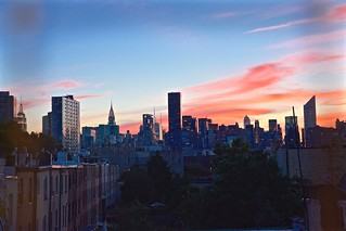 Manhattan sunset (view from Long Island City, Queens)