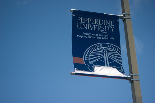 Pepperdine Flag