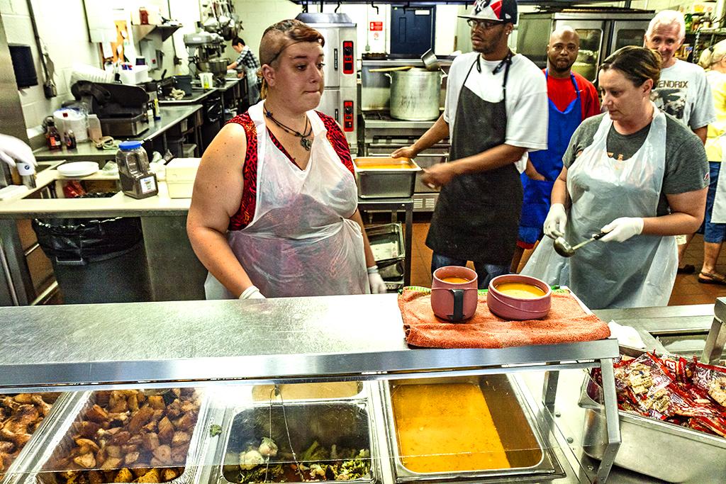 St Vincent de Paul soup kitchen in 6-15--Wilkes-Barre