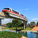Monorail Red by Gregg L Cooper