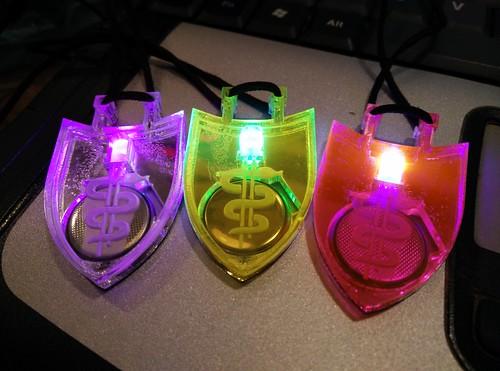 Blinky Hospital pendants