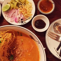 It took a few days, but delicious khao soi was worth the wait!