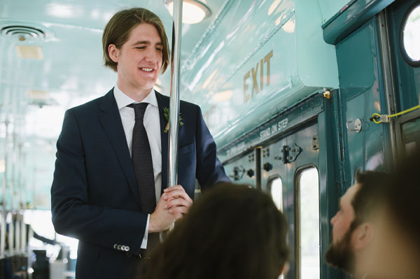 Celine Kim Photography Bellwoods Brewery intimate city wedding Toronto vintage ttc streetcar-48