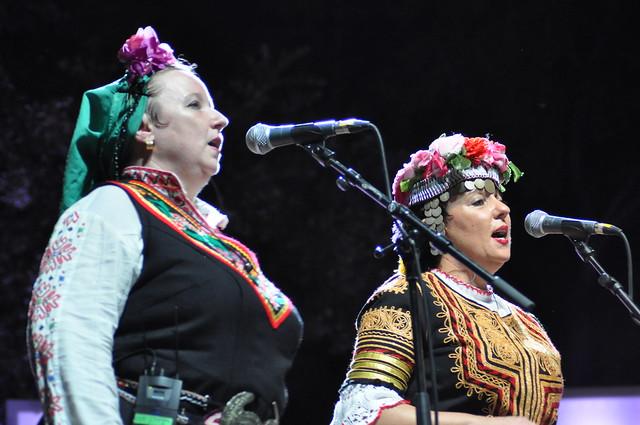 Ludmila Radkova-Trajkova & Daniela Radkova-Alexandrova (Goran Bregovic) by Pirlouiiiit 23072015