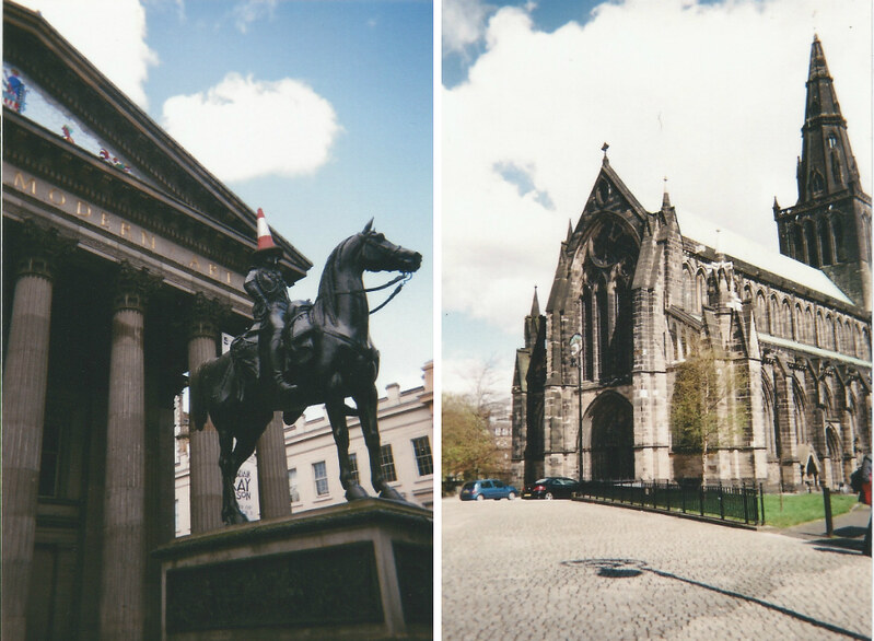 Glasgow in film photography. London UK Lifestyle blog.Smudgeness