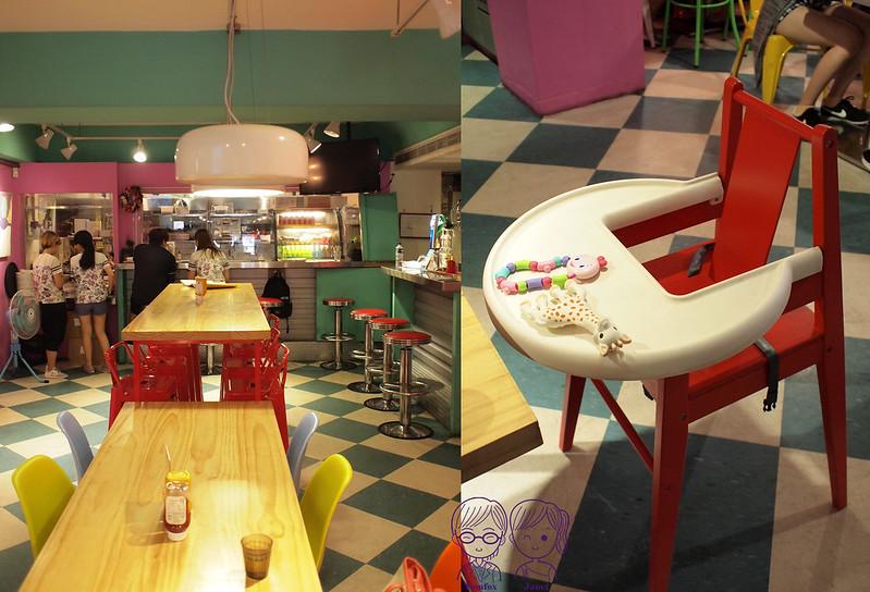 9 Fantasy Diner 潮流美式餐廳