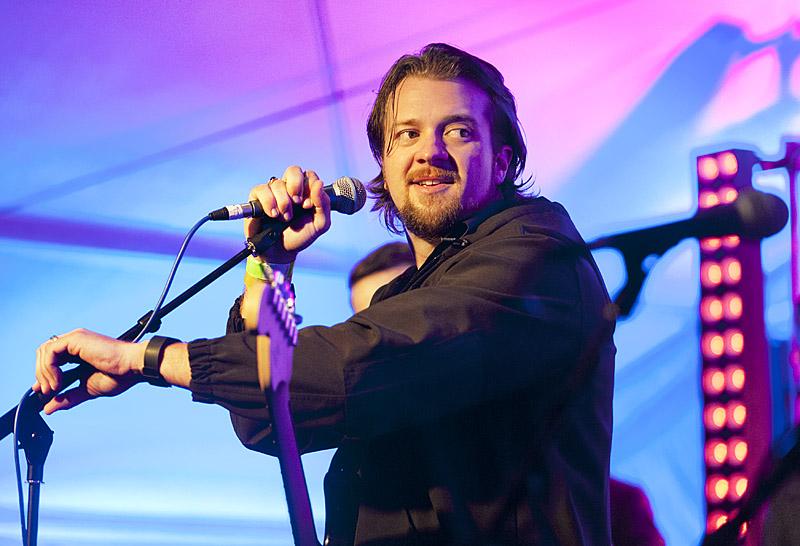 The Earlies, lead singer Brandon Carr