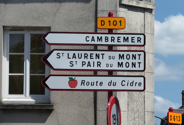 Following the Cider Route of France