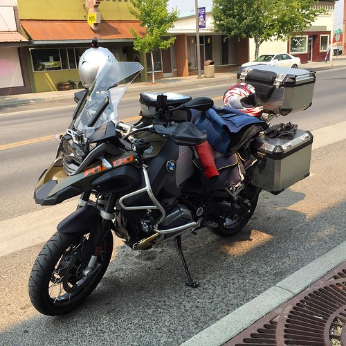 Road Warrior #bmw #motorcycle #R1200GSA #travel #ontheroad #motorcycleroadtrip #bmwmotorrad #washington #idaho #usa #livetoride #lifeonthemove #livetotravel #lifeisgood