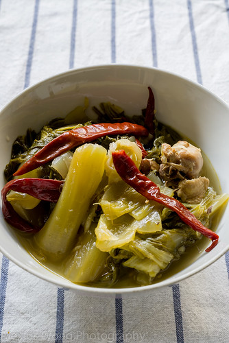 Chah Choy/Spicy Sour Cabbage