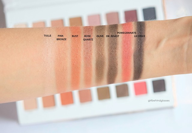 Lorac Mega Pro 3 Palette shimmer shades swatches row4