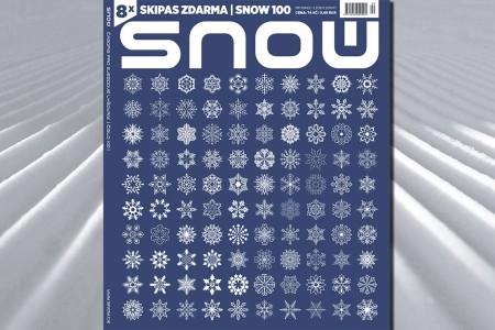 SNOW 100 - jubilejní vydání s 8 skipasy zdarma!