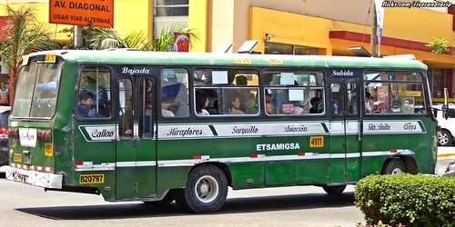 Asia bus - Miraflores, Lima, Perú