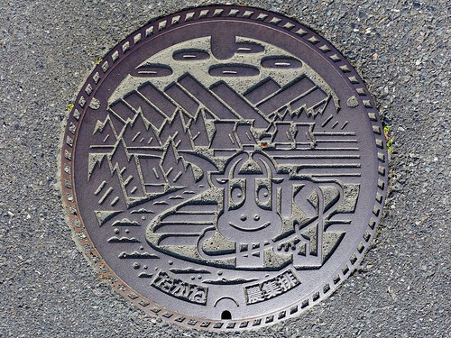 Takane Yamanashi, manhole cover (山梨県高根町のマンホール)