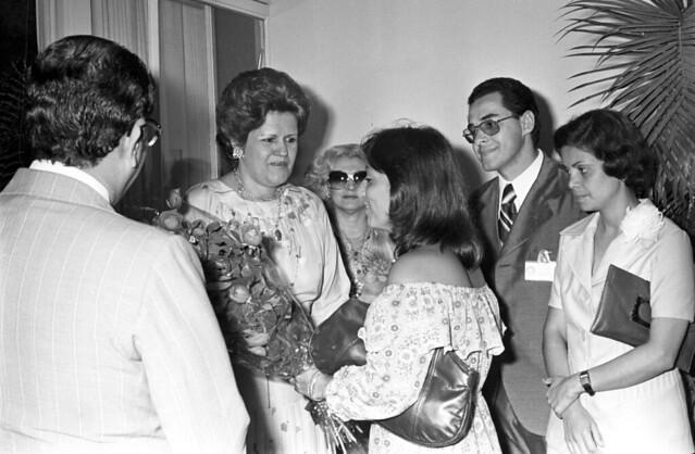 Chá oferecido as Adesguianas da Bahia pela 1ª Dama em 25/11/1977