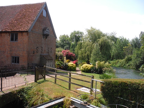 Mill on the Itchen, near Hockley Farm