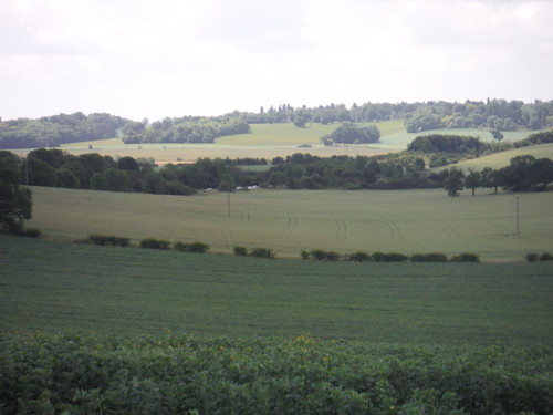 View down Lilley Hoo
