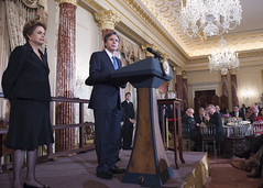 Deputy Secretary of State Antony 'Tony' Blinken salutes the U.S.-Brazil partnership at a State Luncheon that he and Vice President Joe Biden hosted in honor of Brazilian President Dilma Rousseff at the U.S. Department of State in Washington, D.C., on June 30, 2015. [State Department photo/ Public Domain]
