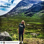 Our tour guide Maddie reppin Tulane in Scotland while she's studying abroad this summer! Keep sending us your #TulaneSummer pics! #Tulane #RollWave