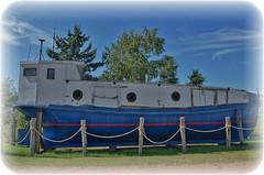 Old Lake Superior Fishing Boat