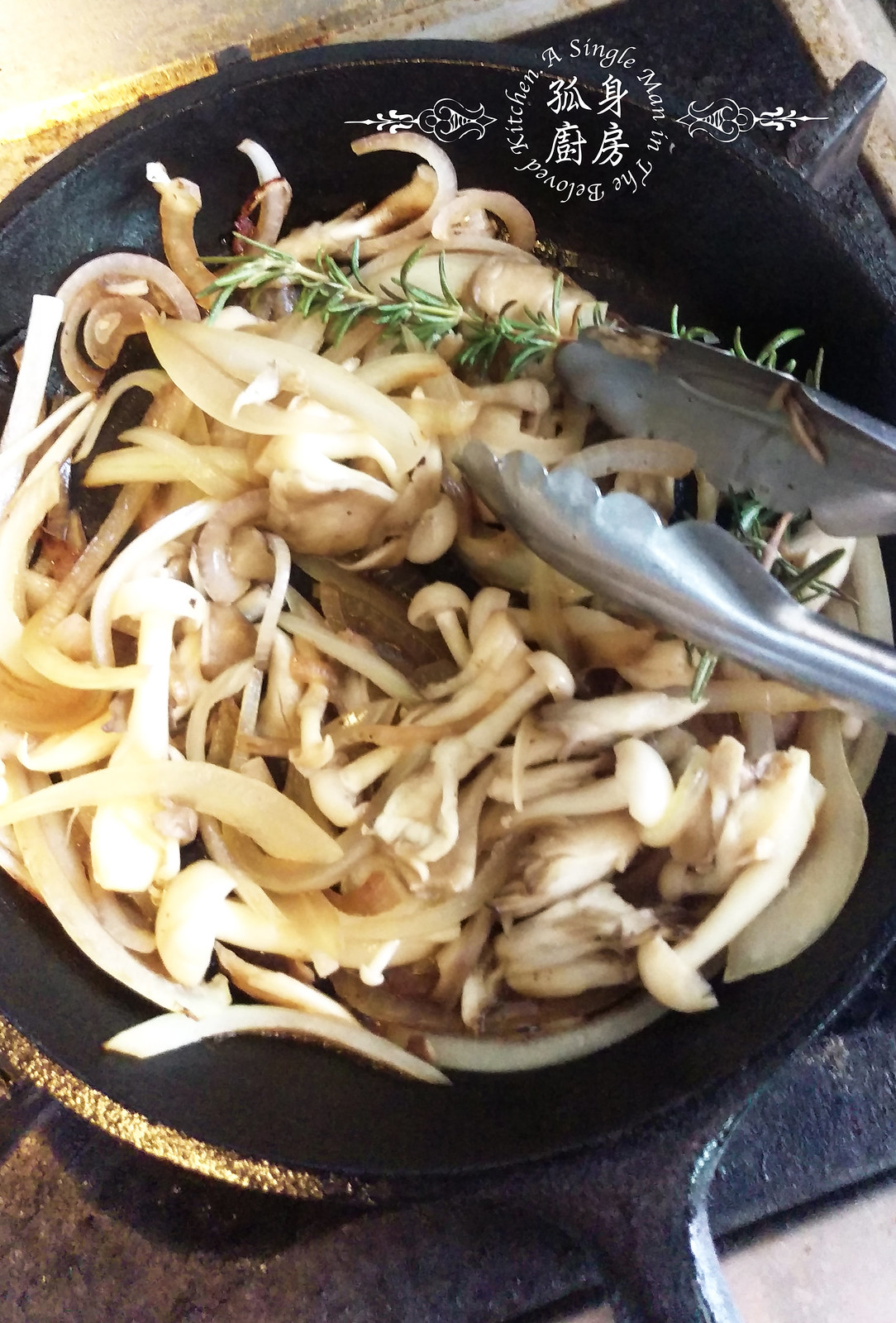 孤身廚房-清冰箱簡單早午餐!培根野菇櫛瓜義式烘蛋Frittata10