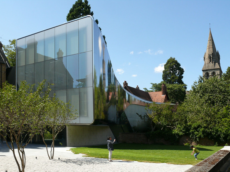 Middle East Centre, St Anthony's College, Oxford by Zaha Hadid 2