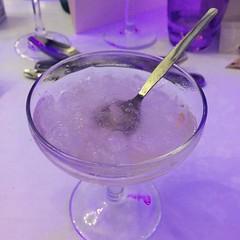 Sorbet pétales de rose et letchi au champagne - Photo of Havelu