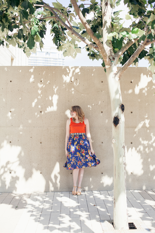 anthropologie skirt old navy clogs7