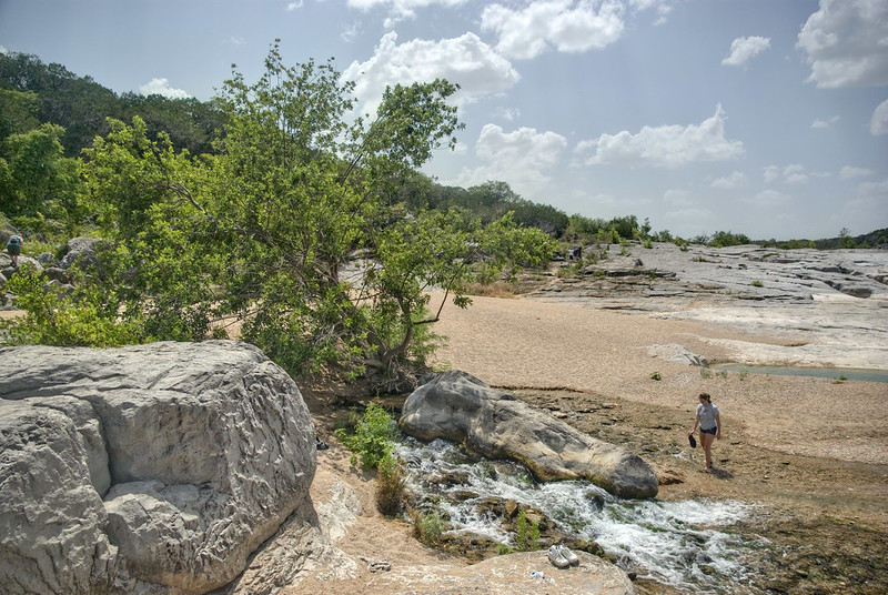 Spring, Pedernales Falls State Park, Blanco County, Texas