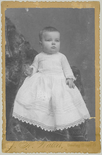 Cabinet Card Portrait of a Baby