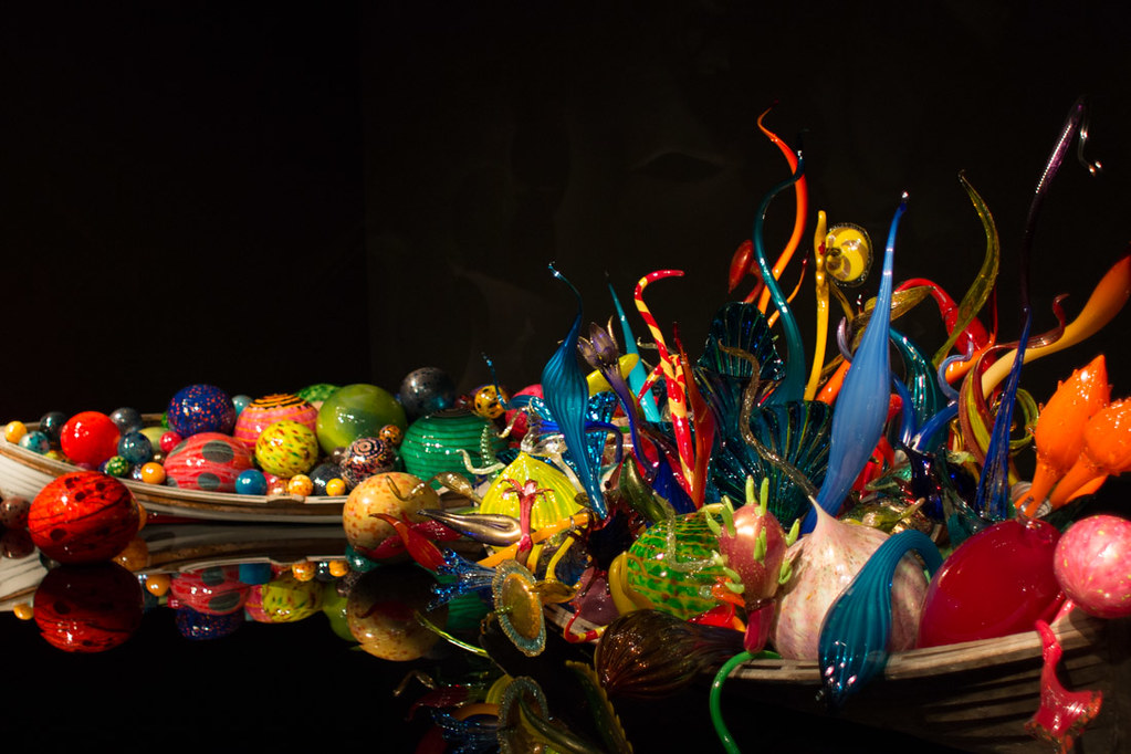 Chihuly Museum exhibits