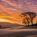 Frosty Sunrise 18th green at Lisheen Springs Golf Club by KenDobson99