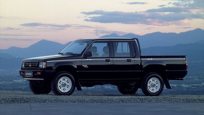 Mitsubishi Pickup Istorija 7