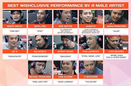 wishclusive performance by a male artist